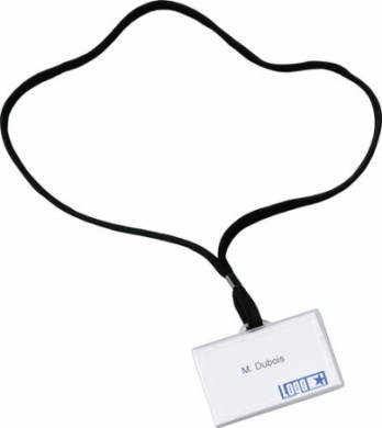 Lanyard met badge
