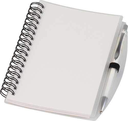 Notebook notitieboek wit