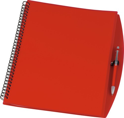 NoteBook A4 notitieboek rode kleur