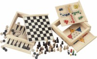 WoodGame 5in1 spel