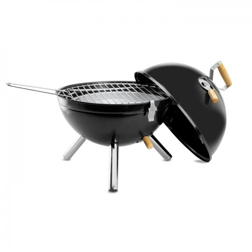 Barbecue met logo