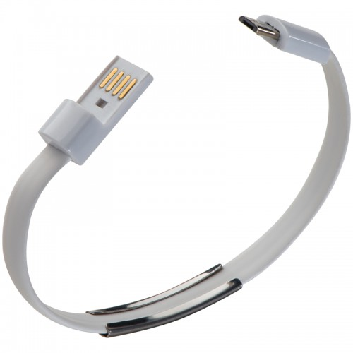 Siliconearmband met data kabel Le Port