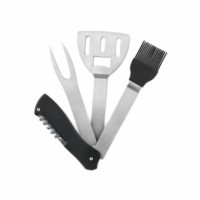 5Delige BBQ multitool RVS