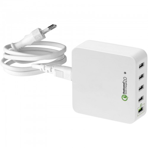 Quick Charge 20 USB oplader met AC netstroom adapter