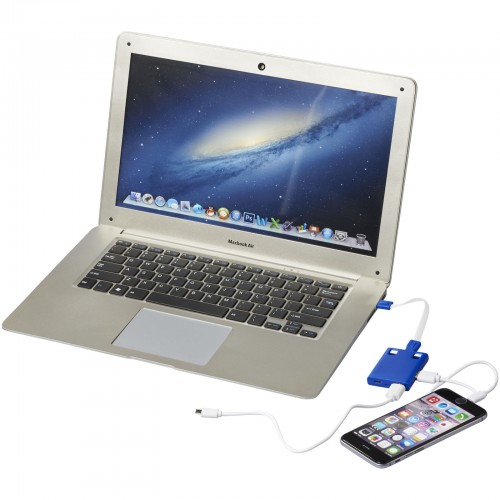USB hub en 3 in 1 kabel
