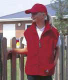 kids bodywarmer fleece