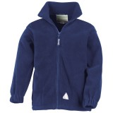 Junior full zip active fleece