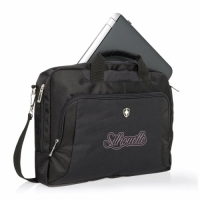 Swiss Peak laptoptas met logo
