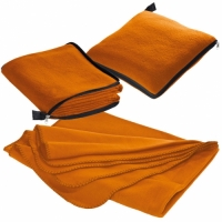 oranje fleece dekens borduren