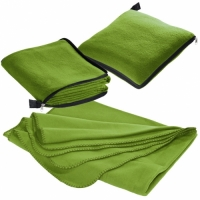 groene fleece dekens borduren